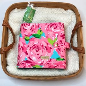 NWT Lilly Pulitzer Floral Large Travel Case Makeup